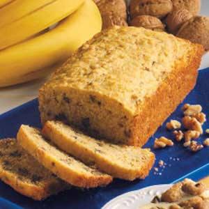 Banana-Nut Corn Bread Recipe