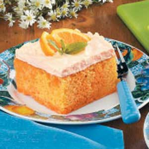 Orange Cream Cake Recipe