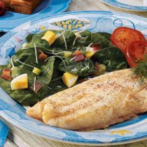 Simple Italian Spinach Salad Recipe