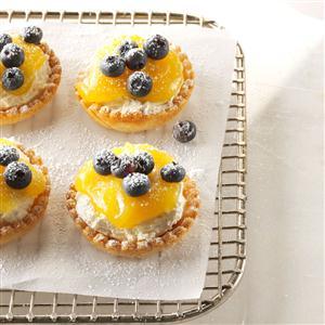 Lemon Cheesecake Tarts Recipe