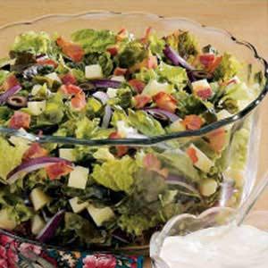 Swiss Tossed Salad Recipe