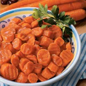 Orange Candied Carrots Recipe