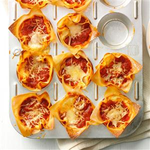 Muffin Tin Lasagnas Recipe
