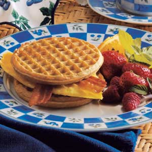 Waffle Sandwiches Recipe