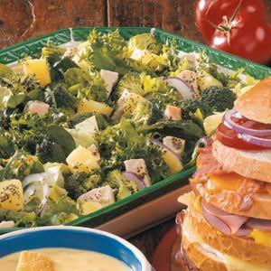 Broccoli Turkey Salad Recipe