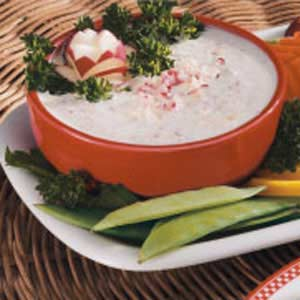 Yogurt Veggie Dip Recipe