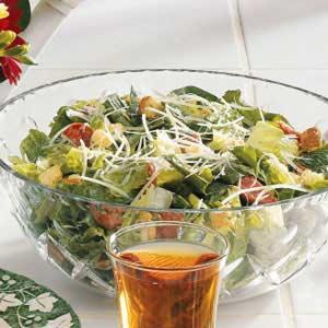 Pepperoni Caesar Salad