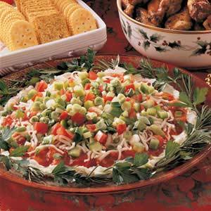 Colorful Shrimp Spread Recipe