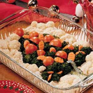 Veggie christmas tree recipe taste of home veggie christmas tree recipe forumfinder Images