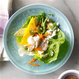 Crab Louie Lettuce Wraps Recipe