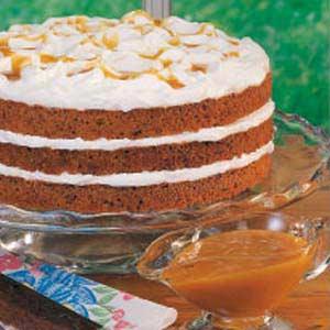 Butterscotch Torte Recipe