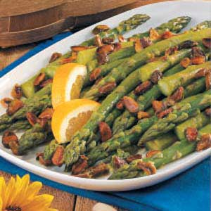 Pistachio Orange Asparagus Recipe