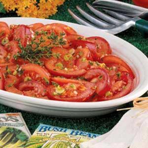 Marinated Garden Tomatoes Recipe