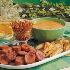 Sweet 'n' Hot Mustard Dip Recipe