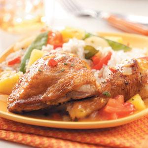 Tropical Chicken Recipe