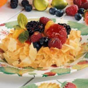 Berry Phyllo Tarts Recipe