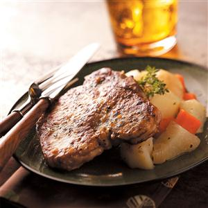 Pork Chop Supper Recipe