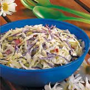 Two-Cabbage Slaw Recipe