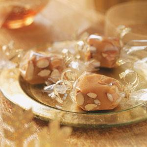 Almond Peanut Butter Squares Recipe