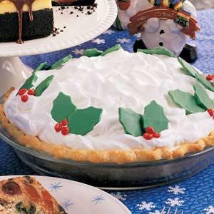 White Chocolate Cream Pie