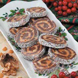 Butterscotch Brownie Pinwheels Recipe
