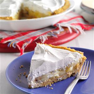 Banana-Pineapple Cream Pies Recipe