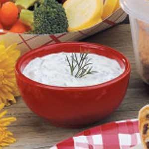 Sour Cream Dill Dip Recipe