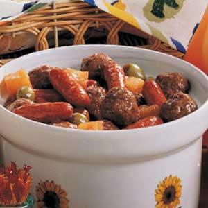 Meatball and Sausage Bites Recipe