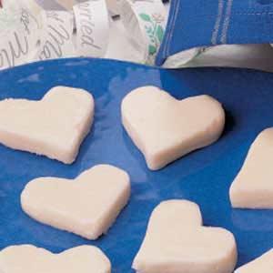 Butter Hearts Recipe