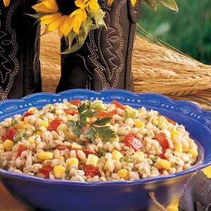 Colorful Barley Salad Recipe