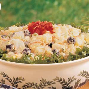 Golden Potato Salad Recipe