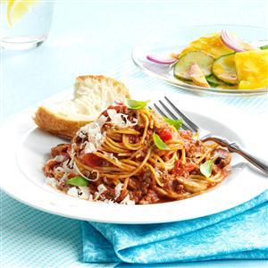 One-Pot Spaghetti Dinner Recipe