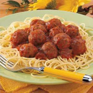 Best Spaghetti 'n' Meatballs Recipe