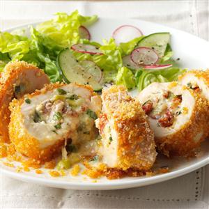 Fontina Rolled Chicken Recipe