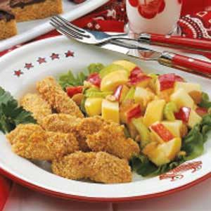 Baked Sesame Chicken Strips Recipe