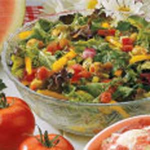 Fiesta Mixed Greens Recipe