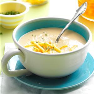 Cheddar Cauliflower Soup Recipe