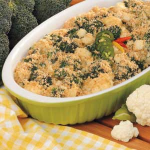 Broccoli Cauliflower Bake Recipe