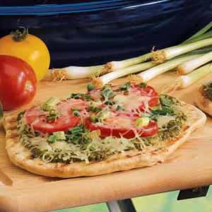 Individual Grilled Pizzas Recipe