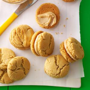 Mini Peanut Butter Sandwich Cookies Recipe
