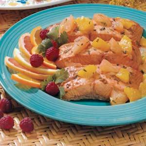 Salmon with Citrus Salsa Recipe