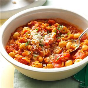 Quick italian veggie skillet recipe taste of home quick italian veggie skillet recipe forumfinder Image collections