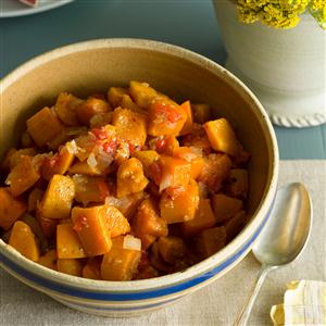Butternut Squash with Maple Syrup Recipe