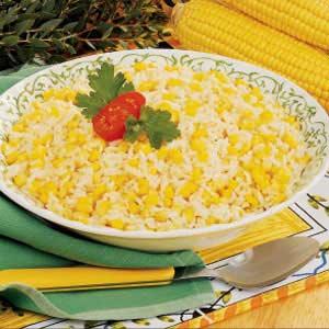Roasted Corn and Garlic Rice Recipe