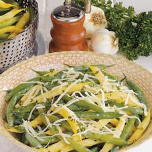 Garlic Green and Wax Beans Recipe