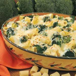 Cheesy Broccoli Rigatoni Recipe