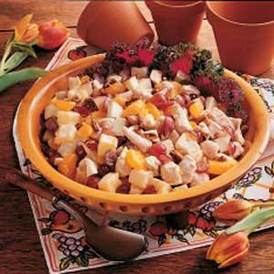 Turkey Fruit Salad Recipe