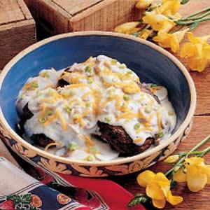 Mushroom Beef Patties Recipe