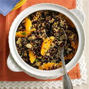 Wild Rice, Quinoa & Cranberry Salad Recipe