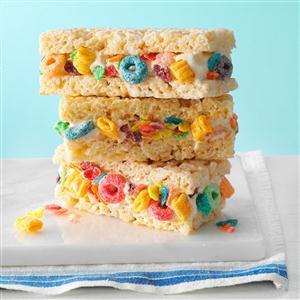 Cereal & Milk Ice Cream Sandwiches Recipe